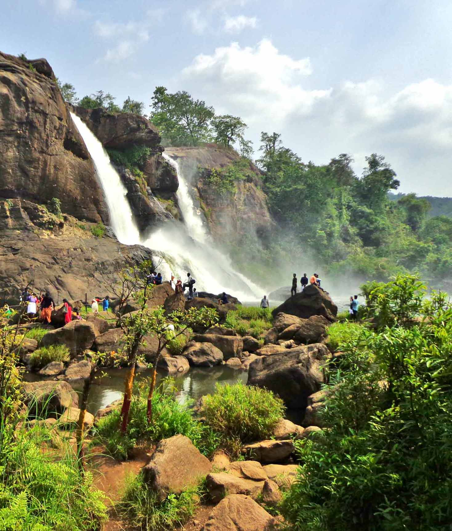 Athirapilly Waterfalls